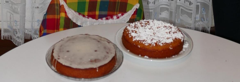 Gâteau Nantais et Polenta mandarine (serge et adèle)