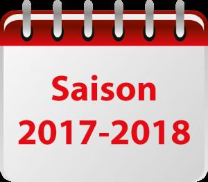 Calendrier des formations (année en cours)